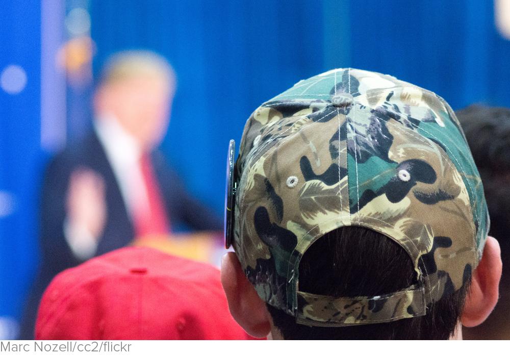 Veterans prefer Donald Trump over Hillary Clinton by 9 points via The Washington Times