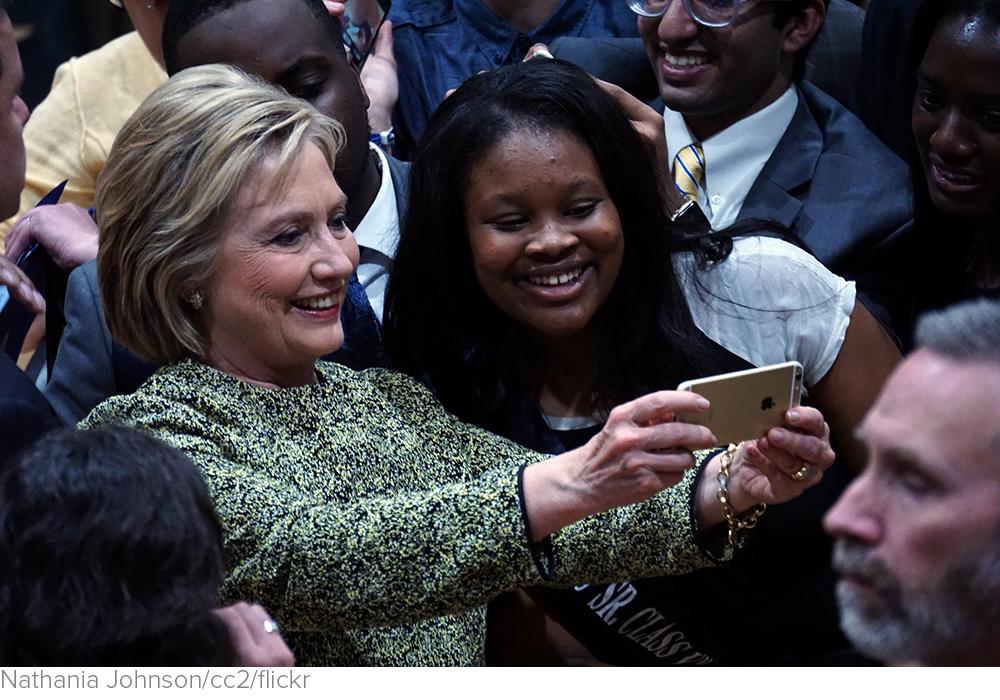 Sign of Progress: Millennial Women Don't Care That Hillary Clinton Is a Woman. via Reason.com