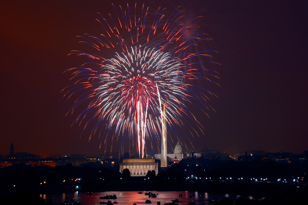 Where Are Fireworks Legal? Sadly, Few States Allow Big, Aerial Explosives For Personal Use via Bustle.com