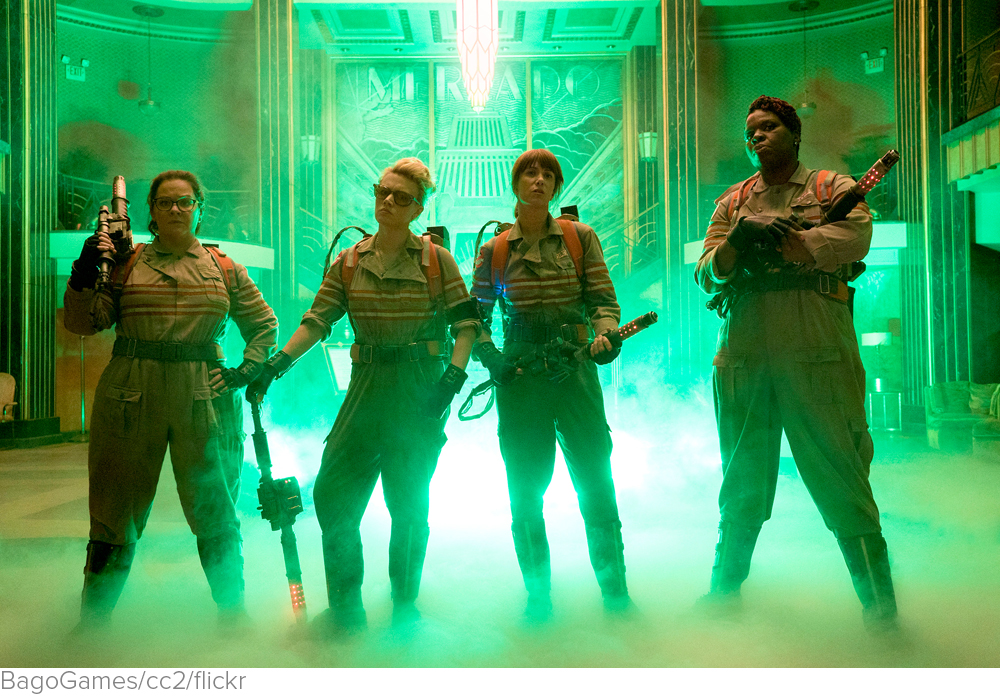 People hate the 'Ghostbusters' trailer, and yes, it's because it stars women via The Washington Post