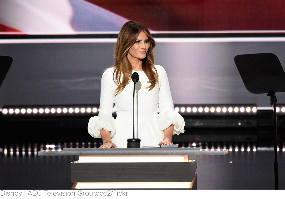 Not the Moment Melania Was Looking For via US News