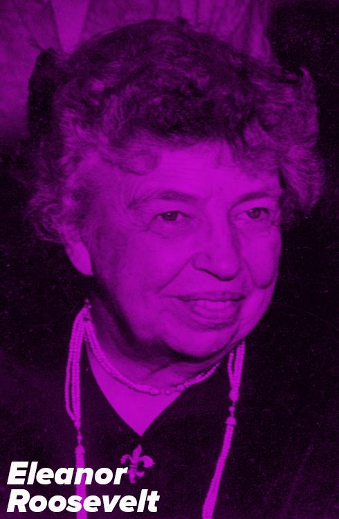 Hillary Clinton Channels Eleanor Roosevelt On the Stump via Bloomberg