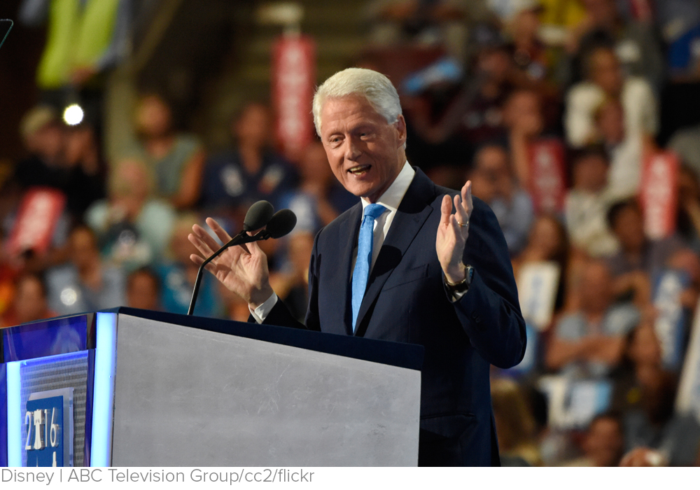 Only the Clintons: Bill's speech was unlike anything we've ever seen via The Washington Post