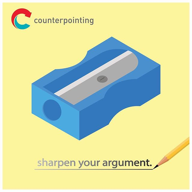 Sharpen your argument at counterpointing.com (link in bio)