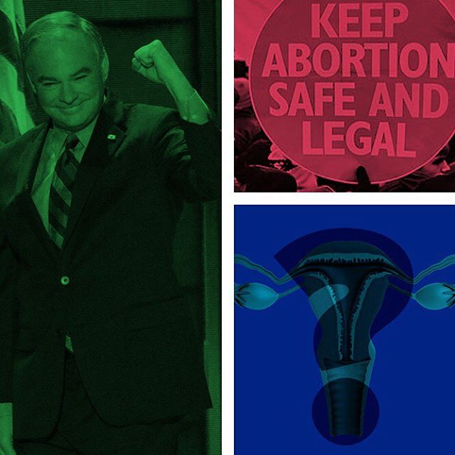 Is Tim Kaine pro choice or pro life or is he a maybe? See all the sides at counterpointing.com (link in bio)