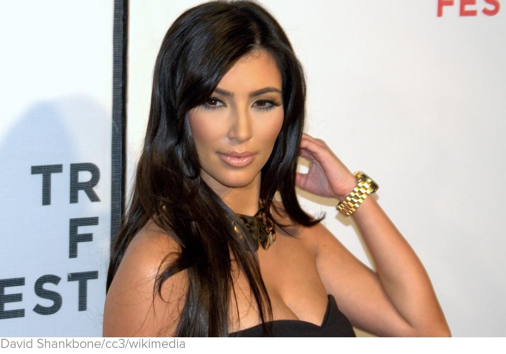Why Kim Kardashian Is the Perfect Icon for Our Sick Society via Alternet