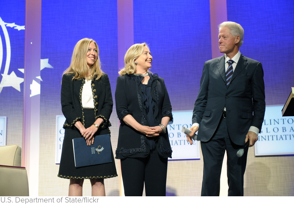 The Question No One's Asking About the Clinton Foundation via Mother Jones