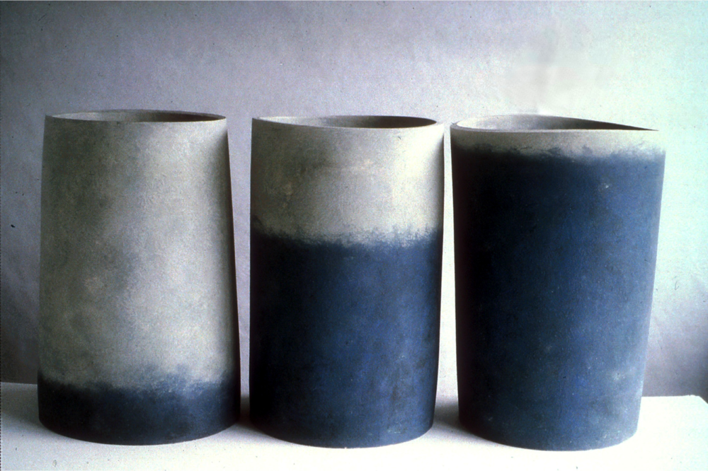 Form and content, 1993, 30cm high
