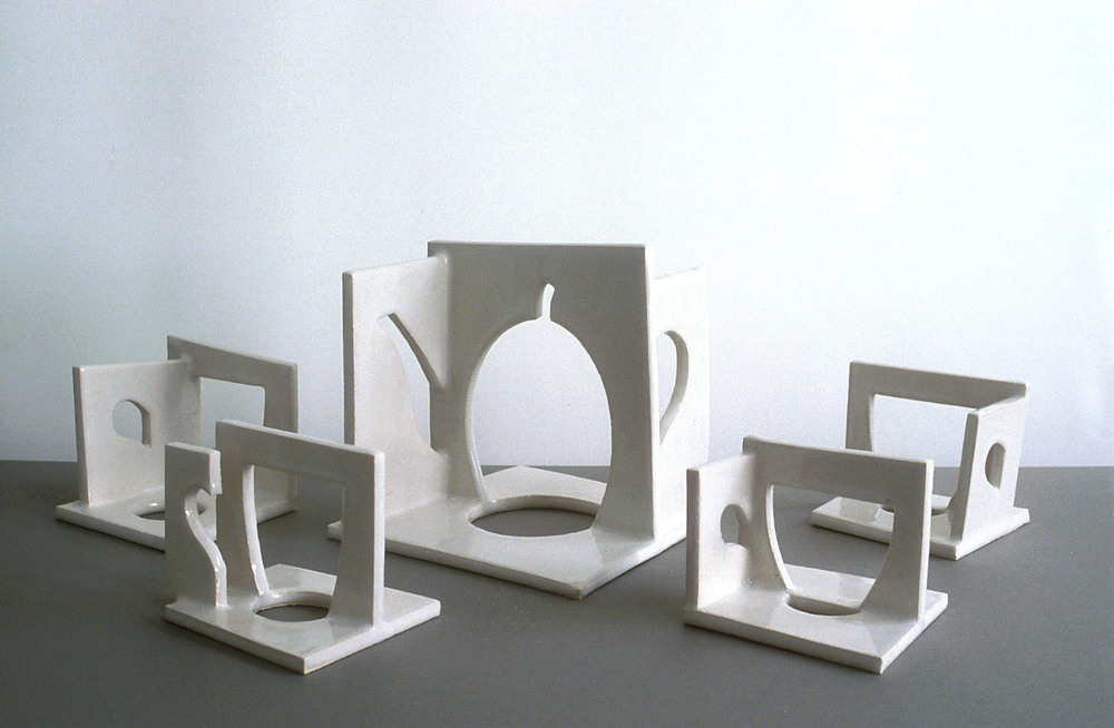 Cut-out tea-set,