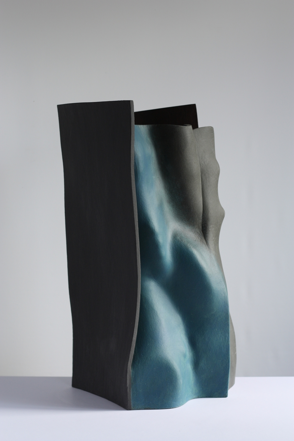 Falling into place, 2014, 56cm high