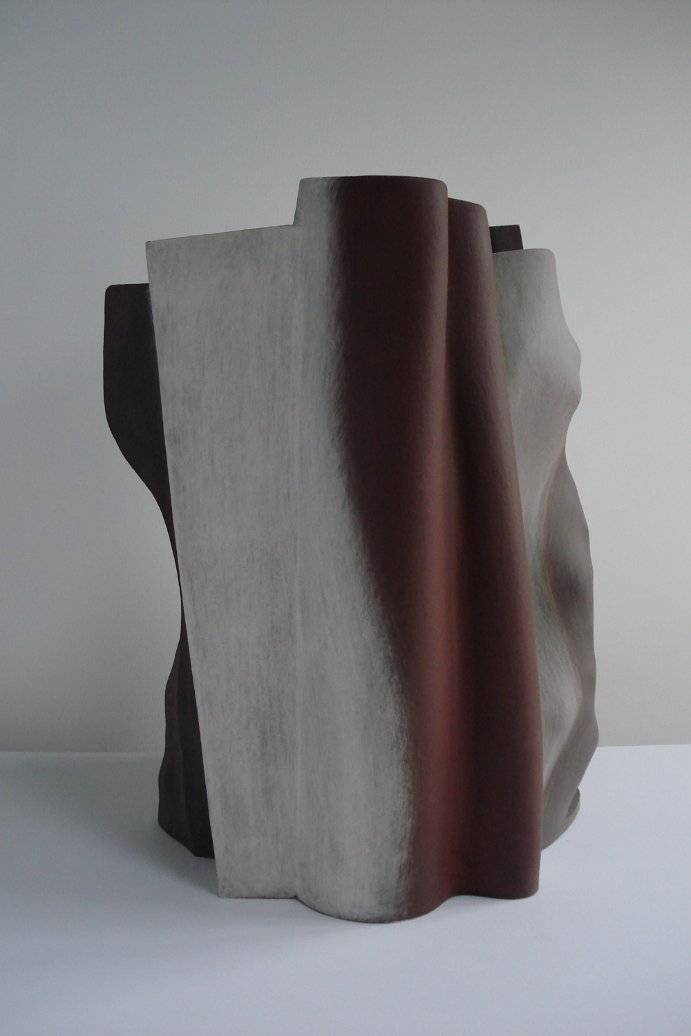 Slow burn, 2007, 47cm high
