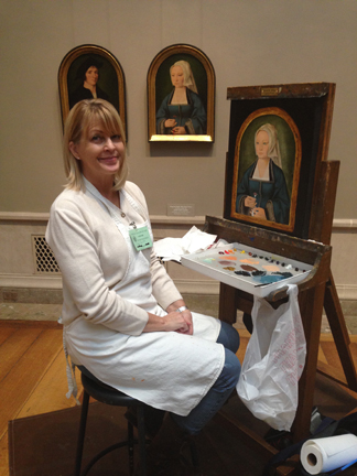 Copyist, February 2015, National Gallery of Art