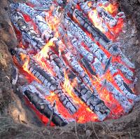 Fire, Charcoal, Ash, Smoke, etc...