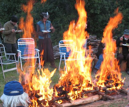 dinner fire