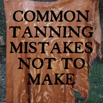 The most common bark tanning mistakes