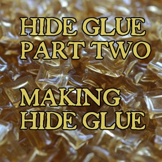 Hide part two, making quality hide glue