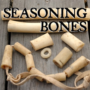 Seasoning bones to prevent cracking