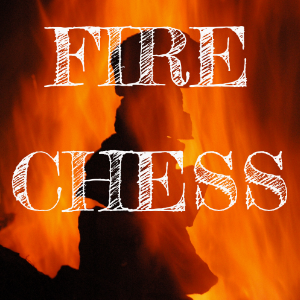 Fire chess, a fire learning game