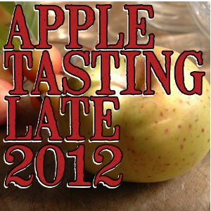 Apple tasting notes late-season 2012/2013