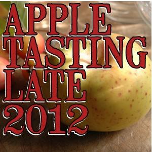 Apple tasting notes late-season 2012/2013