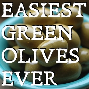 How to make Sicilian style green olives