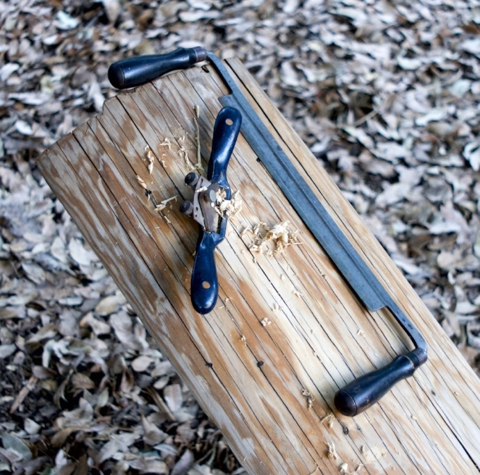 Maintenance tools. The drawknife is probably more versatile and essential than the spokeshave.