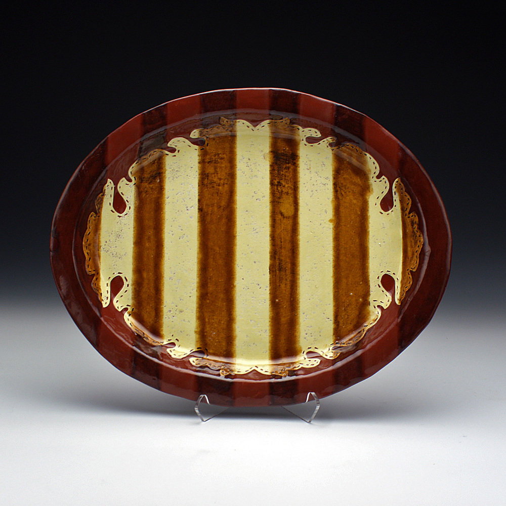 Small Platter Yellow Slip and Stripes A.jpg