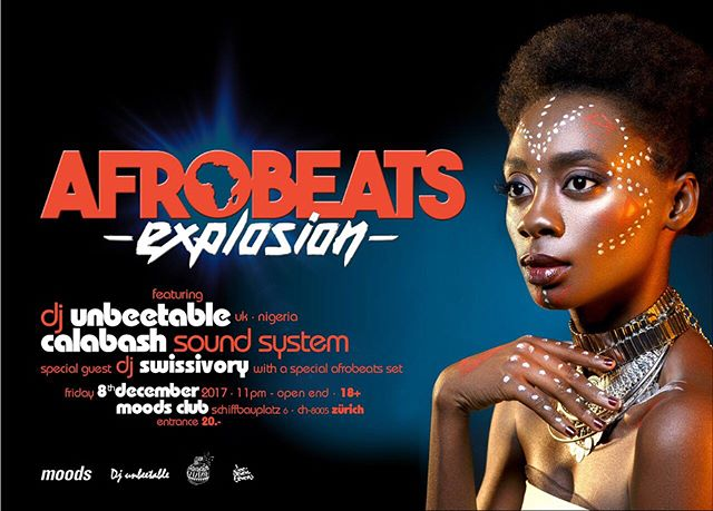 Tonight! Catch us at the @afrobeatsexplosion at @moods_zurich spinning alongside @djunbeetable and @swissivoryrealdreams #afrobeatsexplosion #3 #calabash #thecalabashment #AnAfricanTing