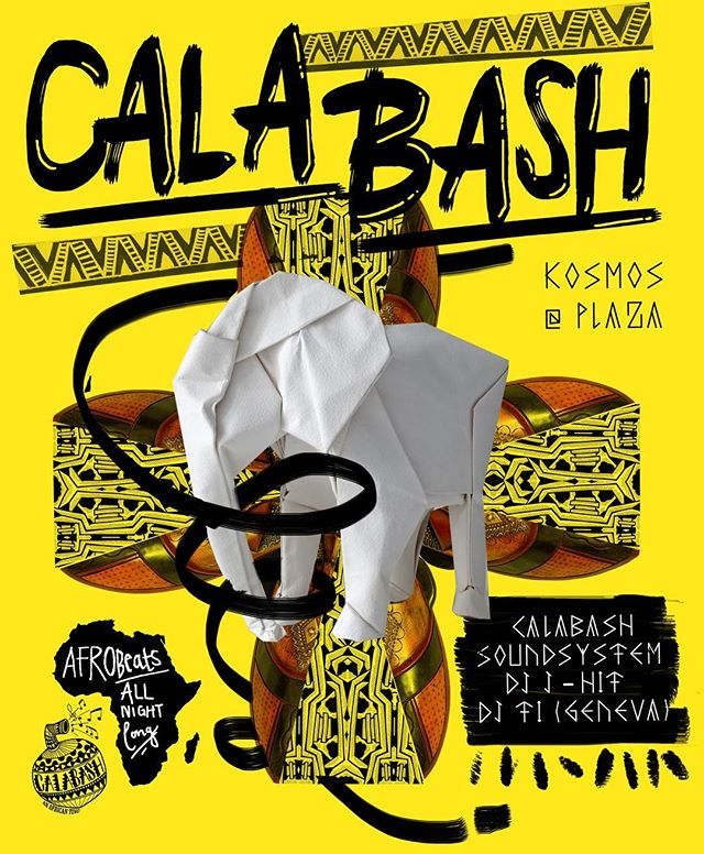 We call it a bash! Or simply Calabash, an African ting! Tonight once again at @plazaklub top floor alongside @dj.jhit and @dj_ti_____ #calabash #thecalabashment #AnAfricanTing