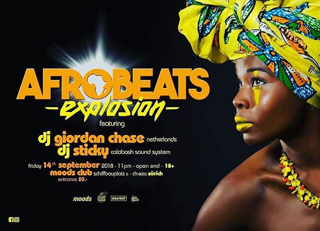 Get your monthly dosis of afrobeats tomorrow at @moods_zurich #afrobeatsexplosion #calabash #thecalabashment #AnAfricanTing