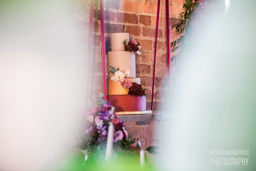 {Styled Shoot Gallery: The West Mill} Creative & Unique Wedding Cakes | Yummy Little Cakes - Nottingham | www.yummylittlecakes.co.uk