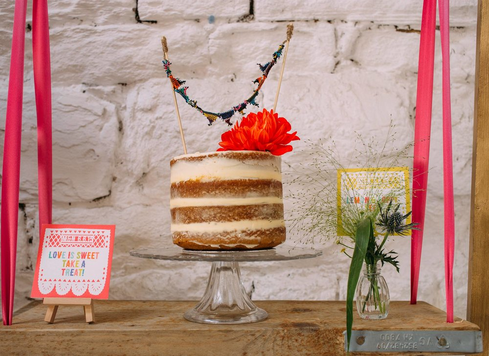 {Real Wedding Gallery: Heather & Chris} Creative & Unique Wedding Cakes | Yummy Little Cakes - Nottingham | www.yummylittlecakes.co.uk