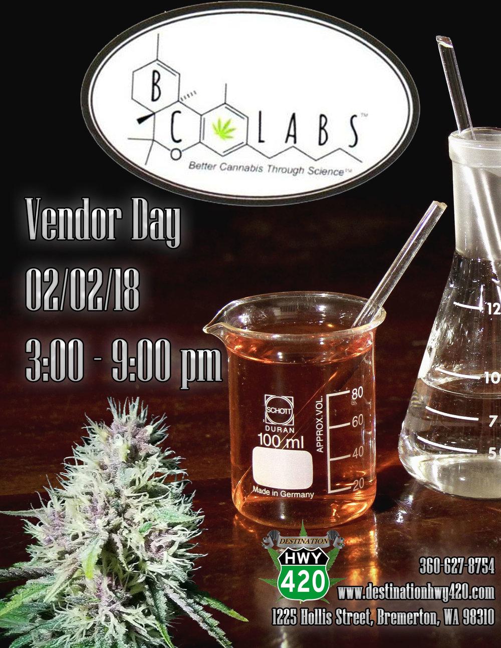 BC Labs- Cannabis Vendor Meet & Greet
