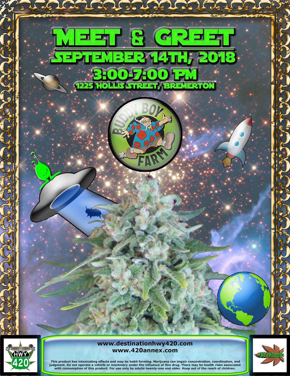 Buddy Boy Farms- Meet & Greet Marijuana Producer/Processor