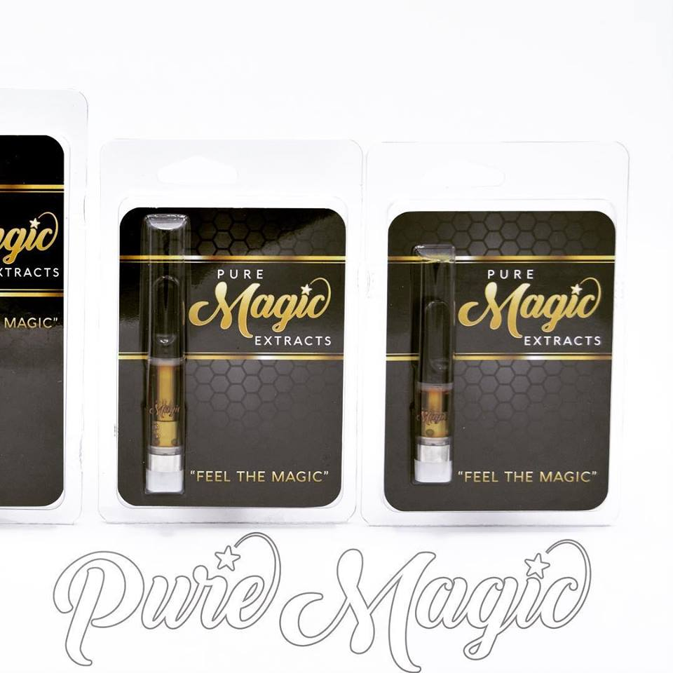 Pure Magic Group produces some incredible cannabis oil filled vape cartridges, perfect for the cannoisseur looking for potent, flavorful, and smooth marijuana products. Pick up some Pure Magic vape cartridges today, at Destination HWY 420, in East Bremerton.