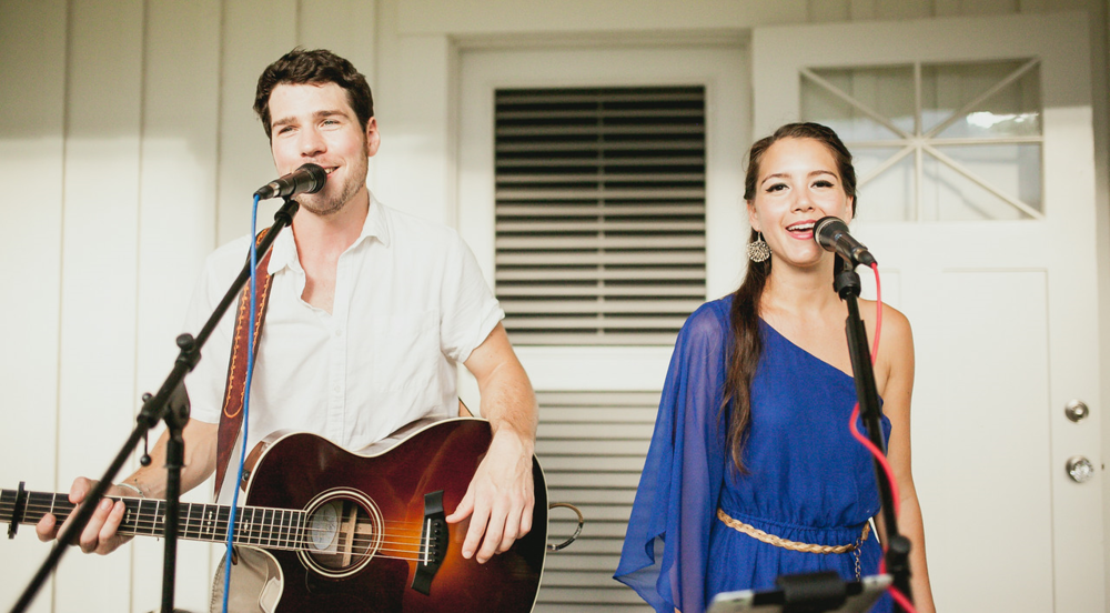 """Best decision of our wedding (except each other, of course) was choosing Foreseeable Futures as our music for the evening. To say we highly recommend them would be an understatement and we just can't thank them enough!""    - Jaclyn & Phil (Wedding, Oahu's North Shore, Summer 2014)"