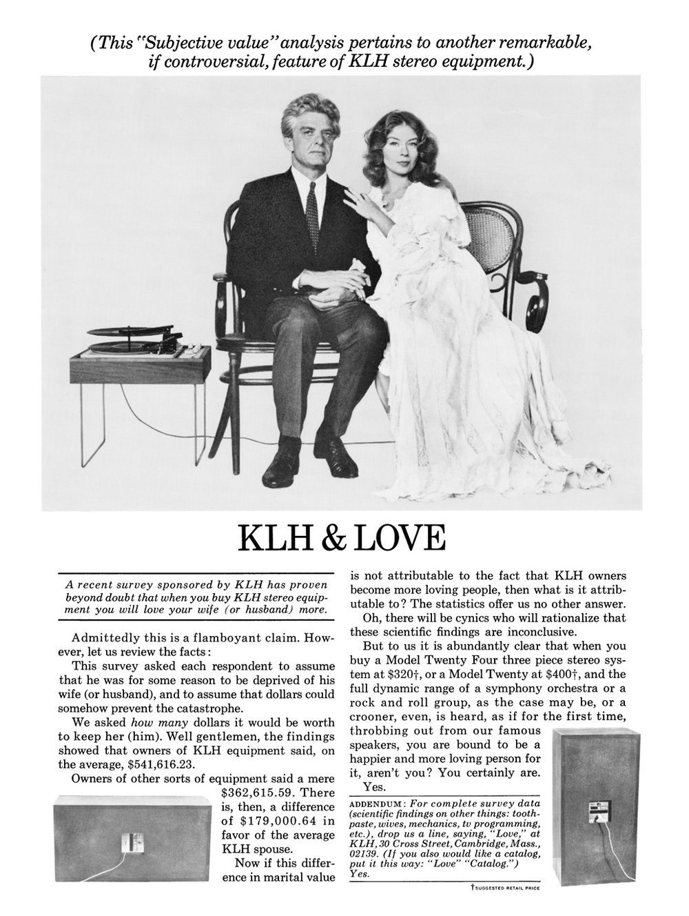 KLH & Love