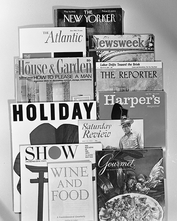 Magazines that the advertising ran in