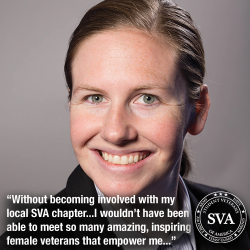 Jessica highly recommends connecting to your local SVA chapter. Through her local chapter she was able to attend The Leadership Institute and is now President of American University's SVA chapter.