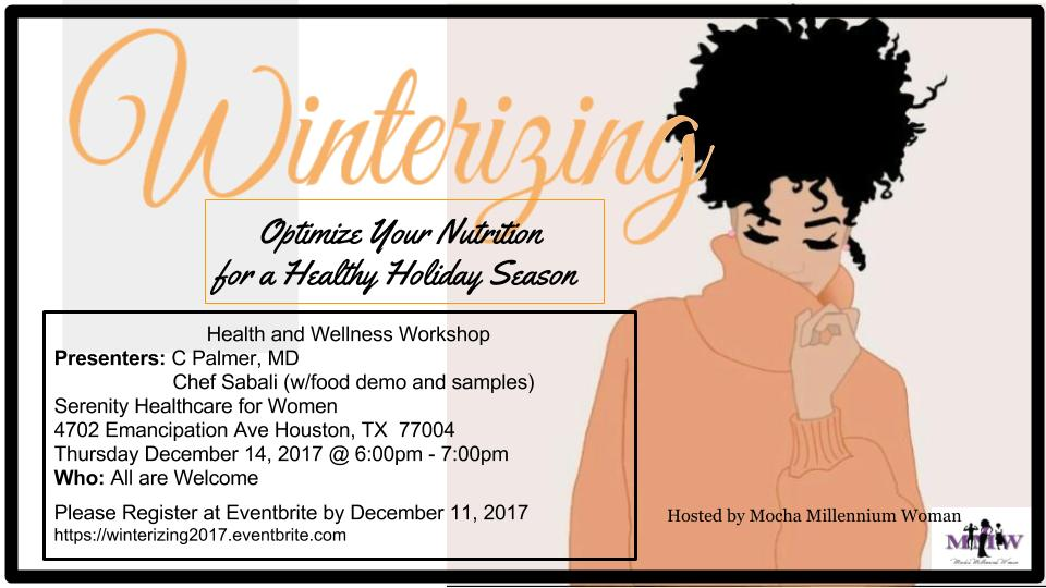 For more information, and to register, please site: https://winterizing2017.eventbrite.com