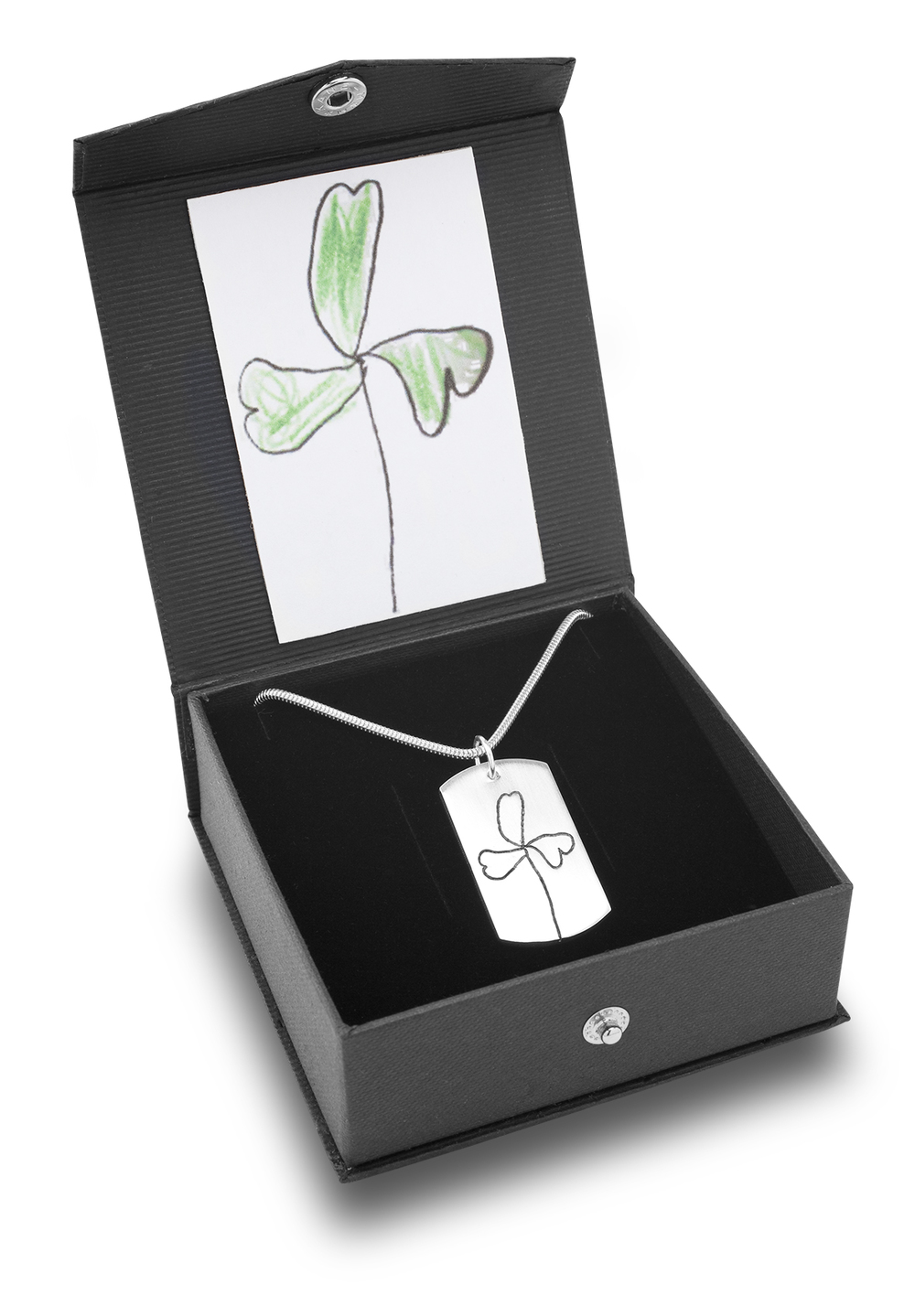 Handmade silver jewellery presented in exclusive gift box