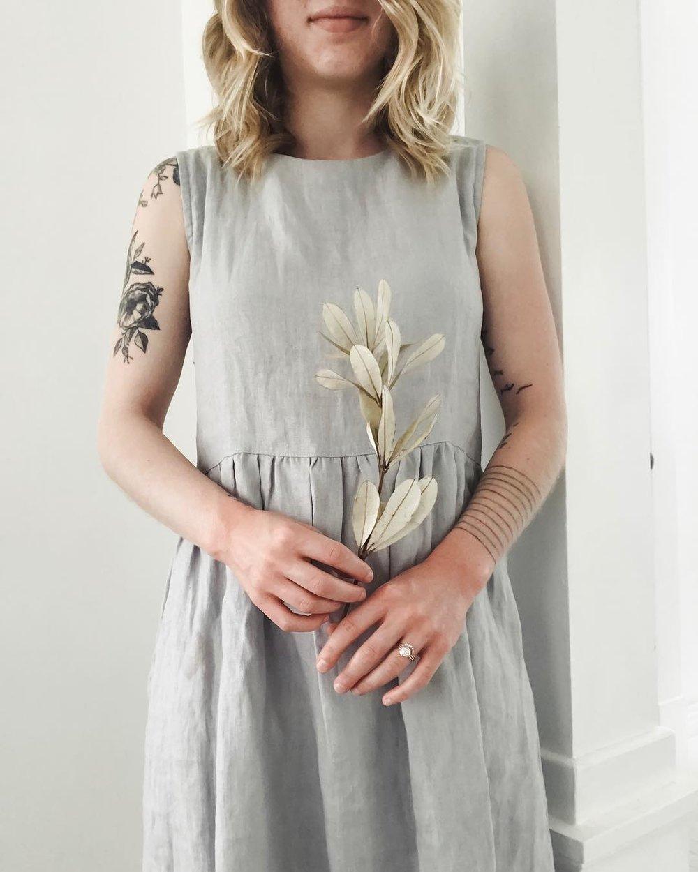 Simply Grey Life  dress