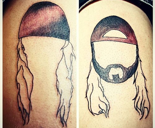 shane_nobrain   Fun jay and silent bob tattoo of the day