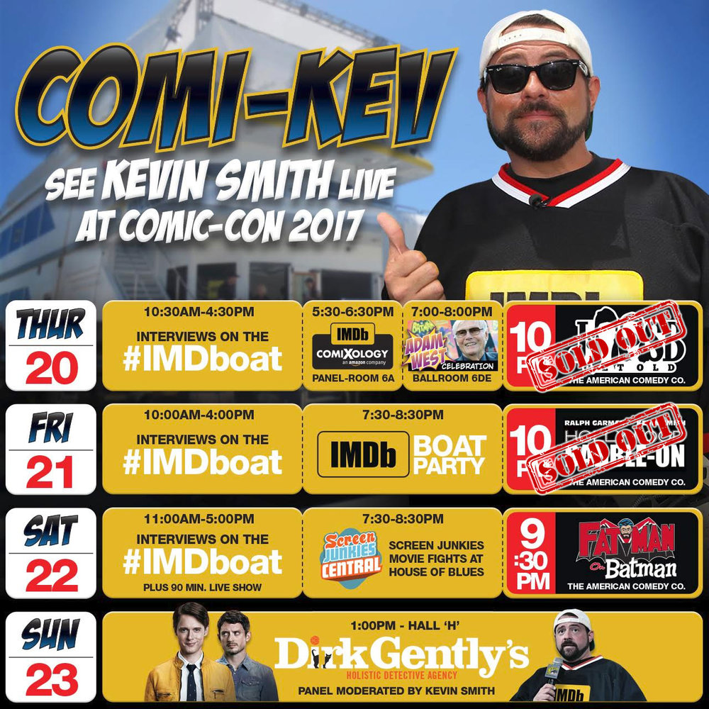 COMI-KEV @ SDCC 2017