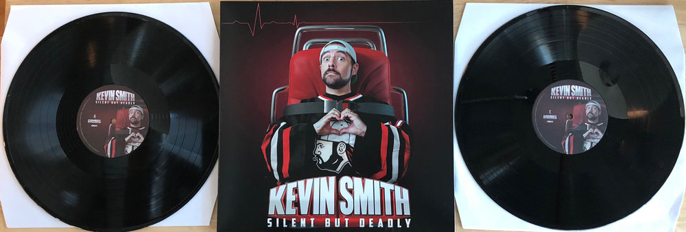 KEVIN SMITH - SILENT BUT DEADLY ON VINYL - SIGNED BY KEVIN