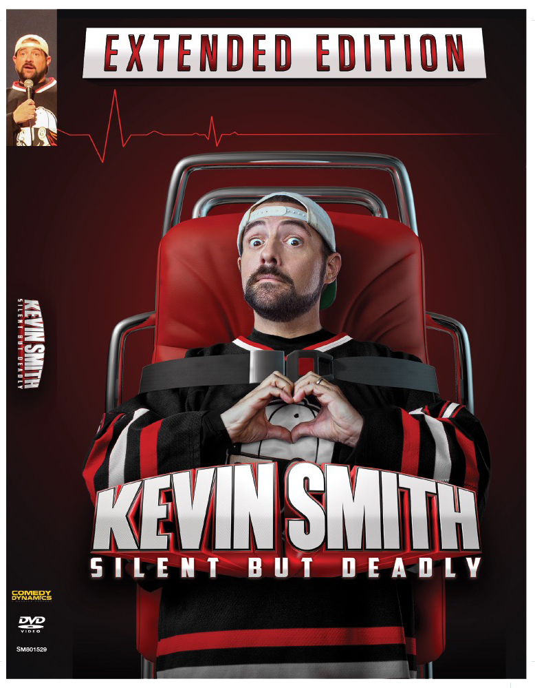 KEVIN SMITH - SILENT BUT DEADLY DVD - SIGNED BY KEVIN