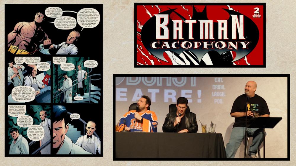 Comic Con Theater: Batman: Cacophony Pt. 2