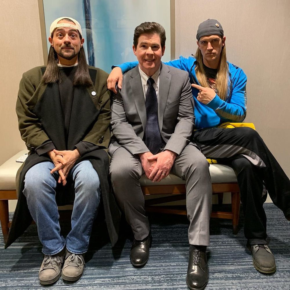 Kevin Smith, Jason Mewes, And Ralph Garman