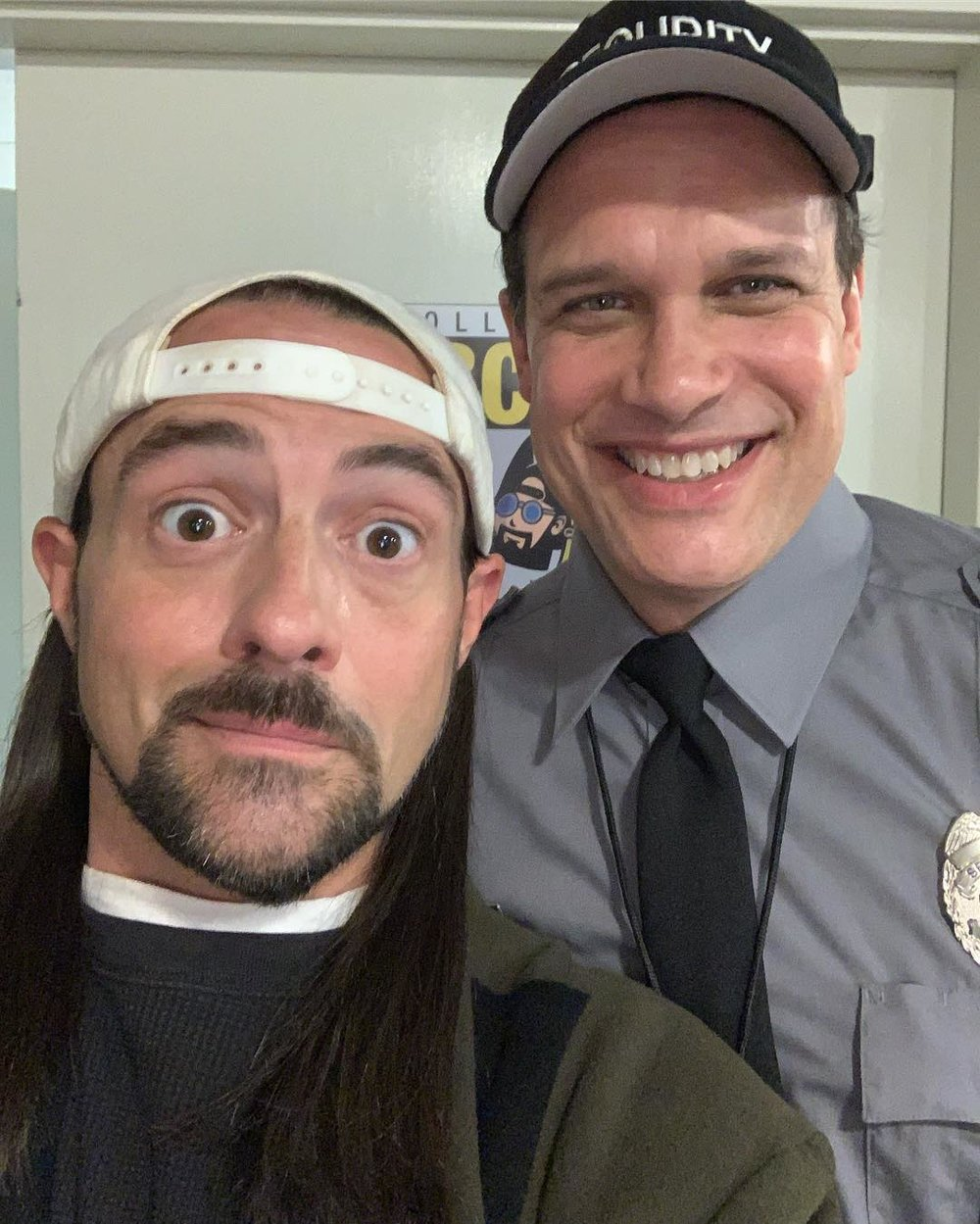 Kevin Smith and Diedrich Bader