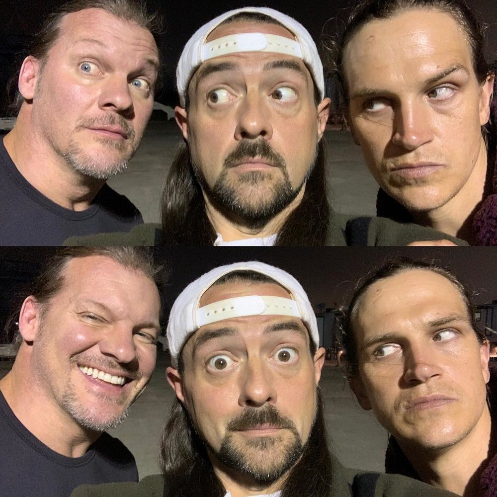 Chris Jericho, Kevin Smith, Jason Mewes